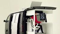 Nissan Sulap Mobil Van Jadi Ruang Kerja yang Asyik