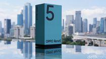Unboxing Oppo Reno5, HP Rp 5 Juta Berfitur Lengkap