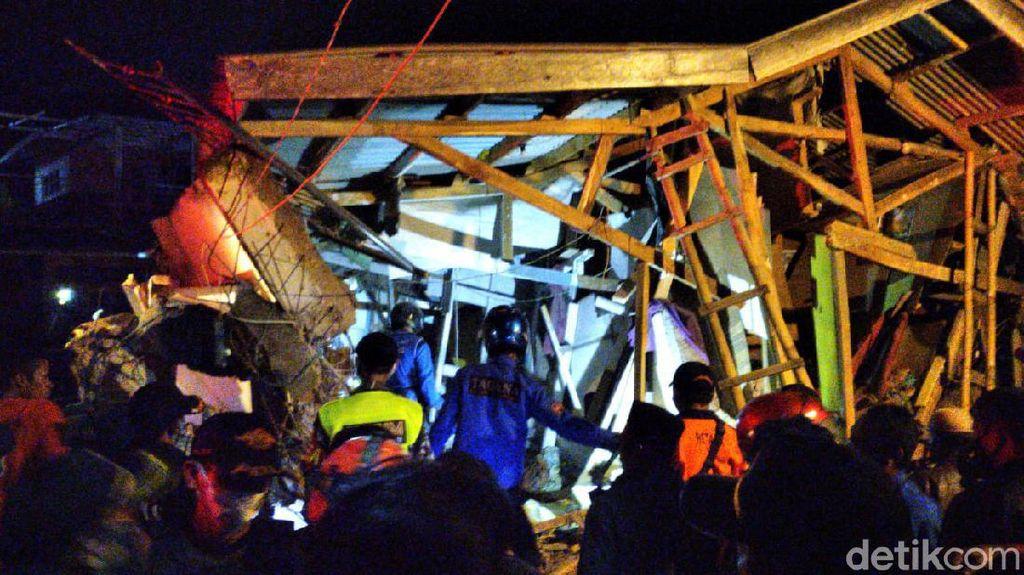 Ini Diduga Penyebab Robohnya Bangunan Ponpes di Cianju