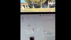 Gaib, Mobil Tesla Bisa Melihat Hantu di Kuburan