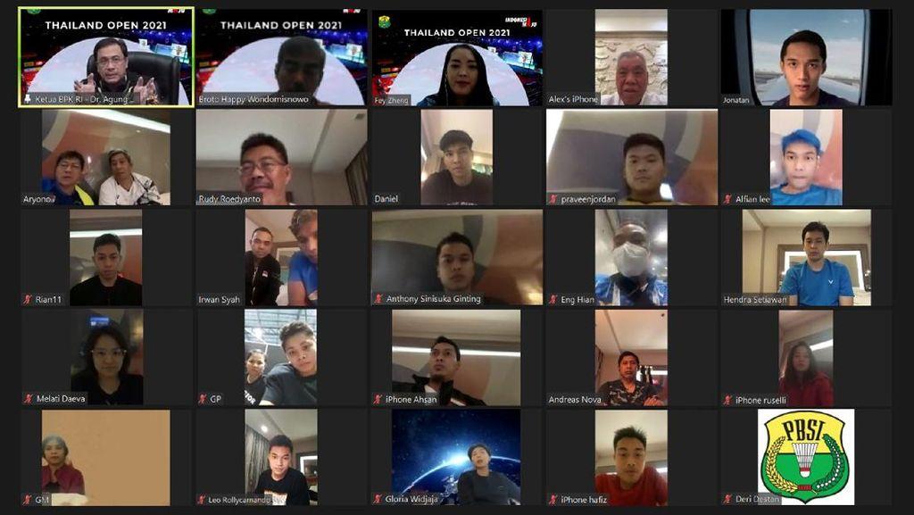 Pesan Ketum PBSI ke Anthony Ginting dkk: Dinikmati Saja Pertandingannya