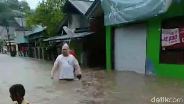 Banjir dan tanah longsor di Manado (Dok. Istimewa)