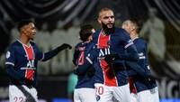 Angers Vs PSG: Menang 1-0, Les Parisiens Geser Lyon di Puncak Klasemen