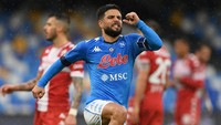 Menang Telak atas Fiorentina, Modal Napoli Tantang Juventus