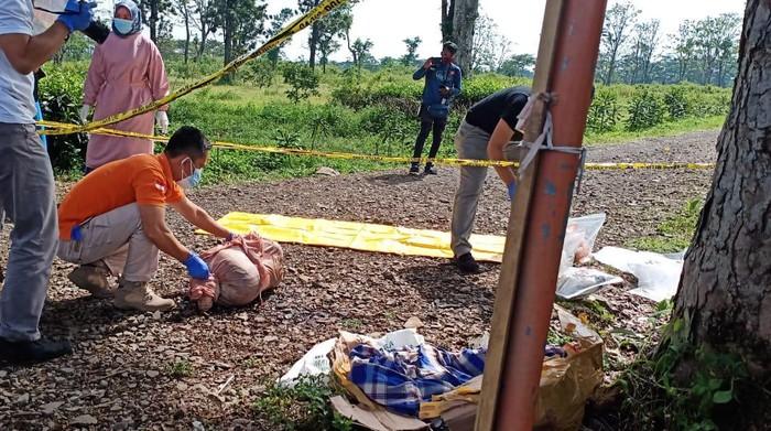Mayat Bocah Terbungkus Karung di Subang