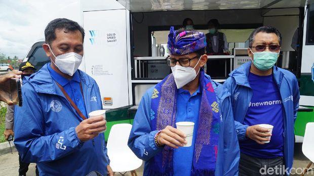 Menparekraf Sandiaga Uno kunker ke Lombok