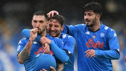 Hasil Napoli Vs Fiorentina: Partenopei Menang 6-0