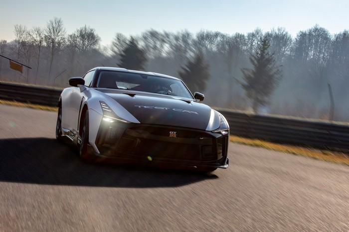 Nissan berkolaborasi dengan perusahaan desain otomotif asal Italia, Italdesign, dalam mengembangkan mobil sport ganas, Nissan GT-R50.