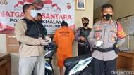 Berkedok Musafir, Pria Nekat Curi Motor di Tasikmalaya