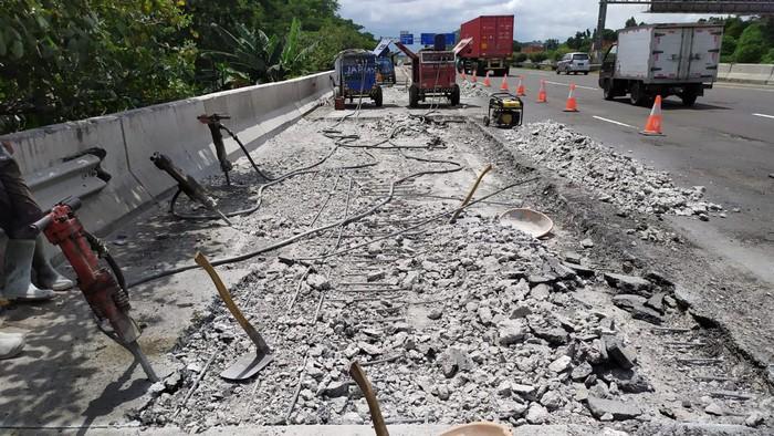 Perbaikan Jalan Tol Jagorawi
