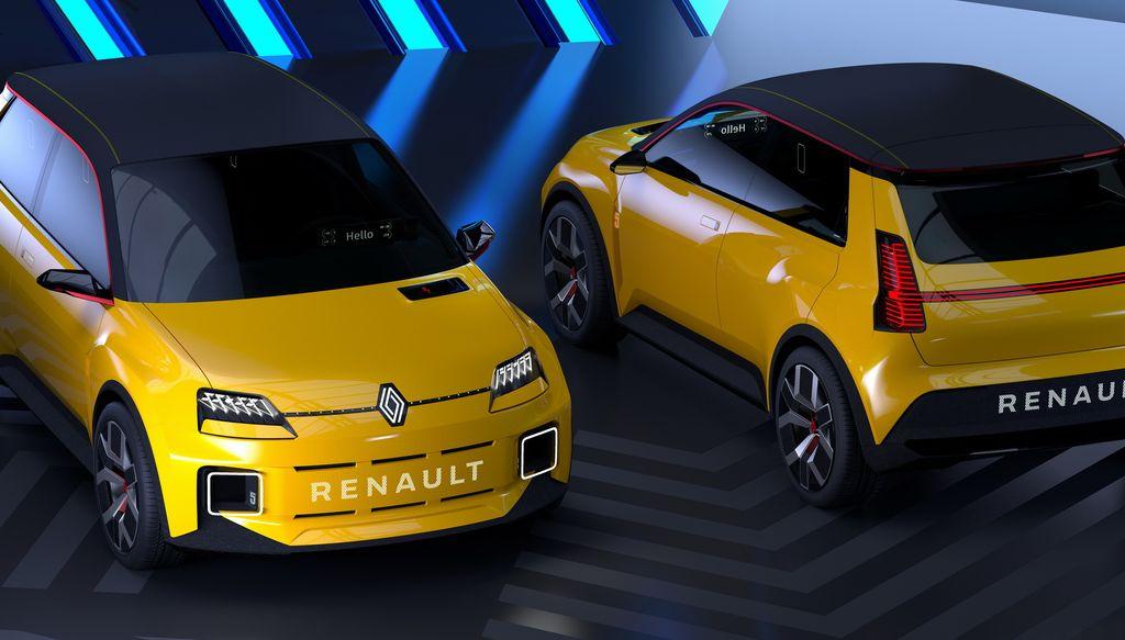 Prototipe mobil listrik Renault 5
