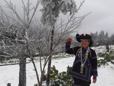 Tak Perlu Jauh-jauh ke Eropa, Hamparan Salju Juga Ada di Vietnam
