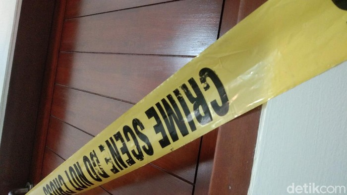 TKP pembunuhan wania dalam kos di Denpasar (Angga Riza/detikcom)