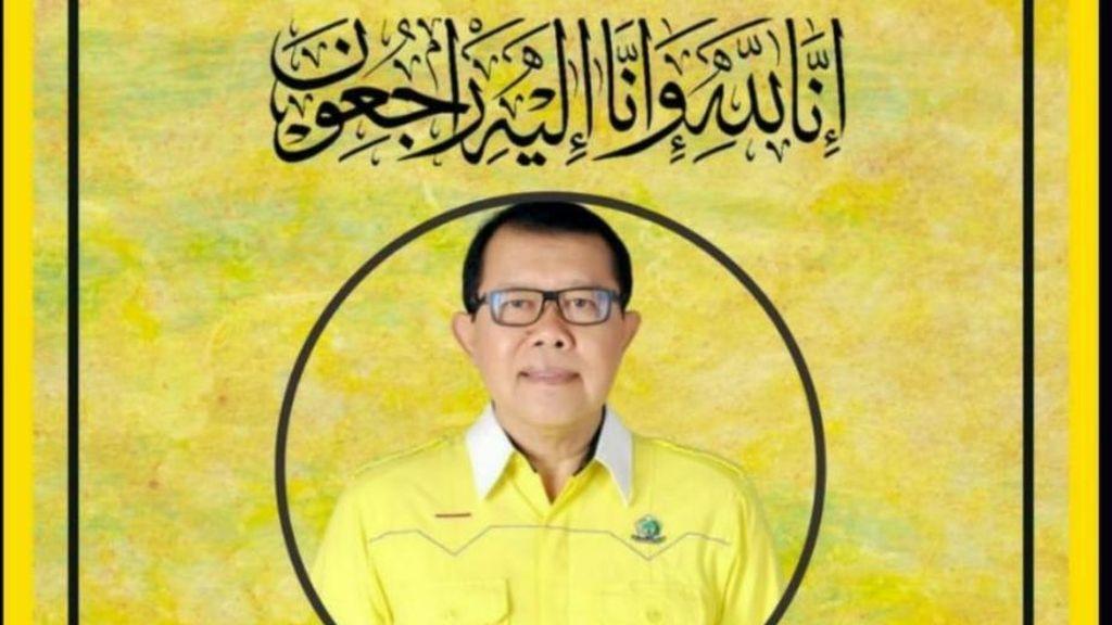 Anggota DPR dari Fraksi Golkar Gatot Sudjito Meninggal Dunia