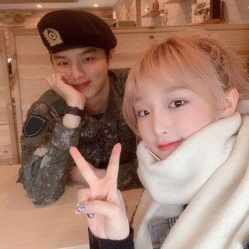 Yena dan Sungmin