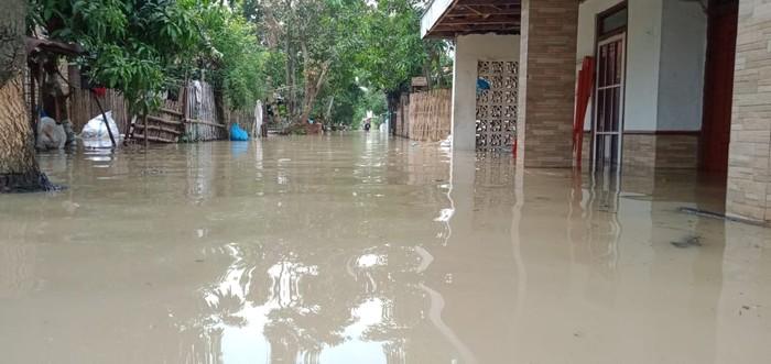 Banjir cirebon landa 7 kecamatan pada 18 januari 2021