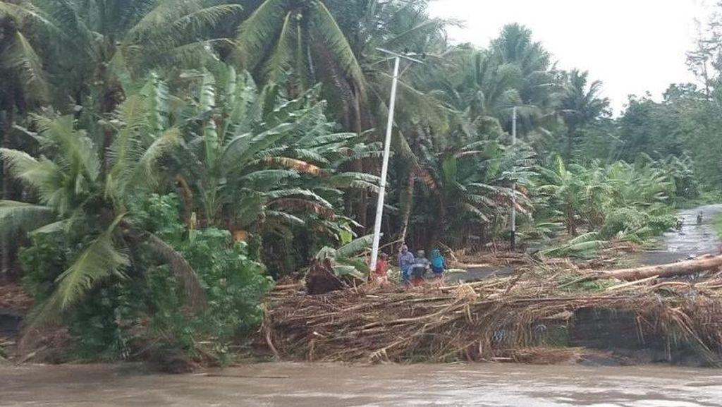 2.863 Warga Halmahera Utara Ngungsi Akibat Banjir, 3 Rumah Hanyut