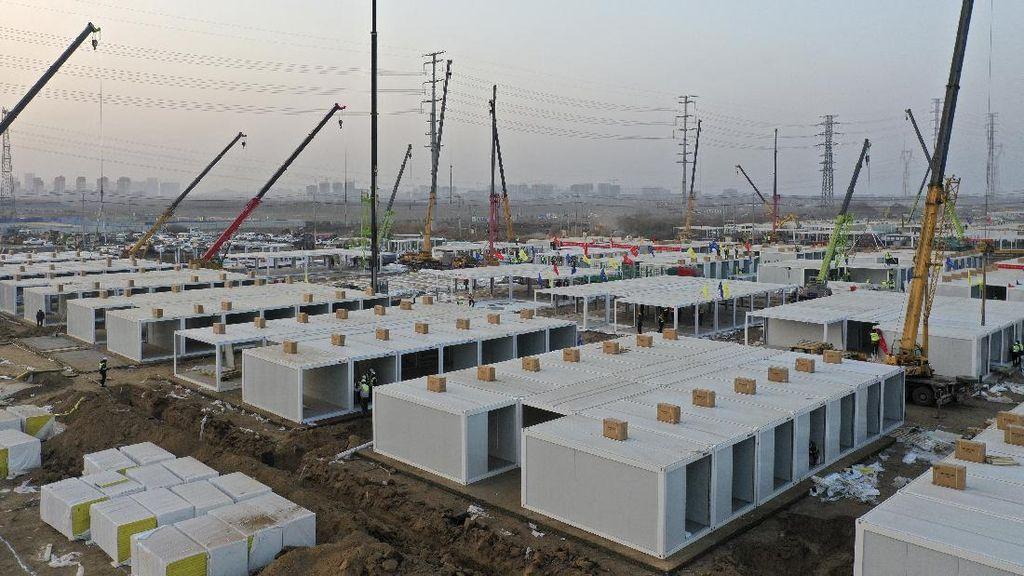 China Kembali Sigap Bangun Pusat Karantina COVID-19