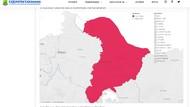 Karawang Zona Merah Selama 6 Minggu, Begini Peta Sebarannya