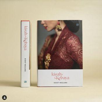 Didiet Maulana merilis buku Kisah Kebaya