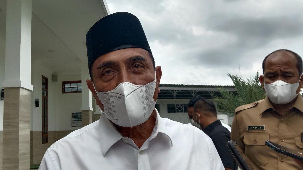 Celetukan Enaknya Berkuasa Gubsu Bangun Masjid dengan Nama Ayahnya