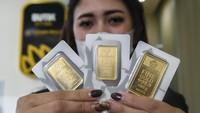 Ambyar Pol! Harga Emas Antam Anjlok Rp 150.000 dari Rekor Tertinggi