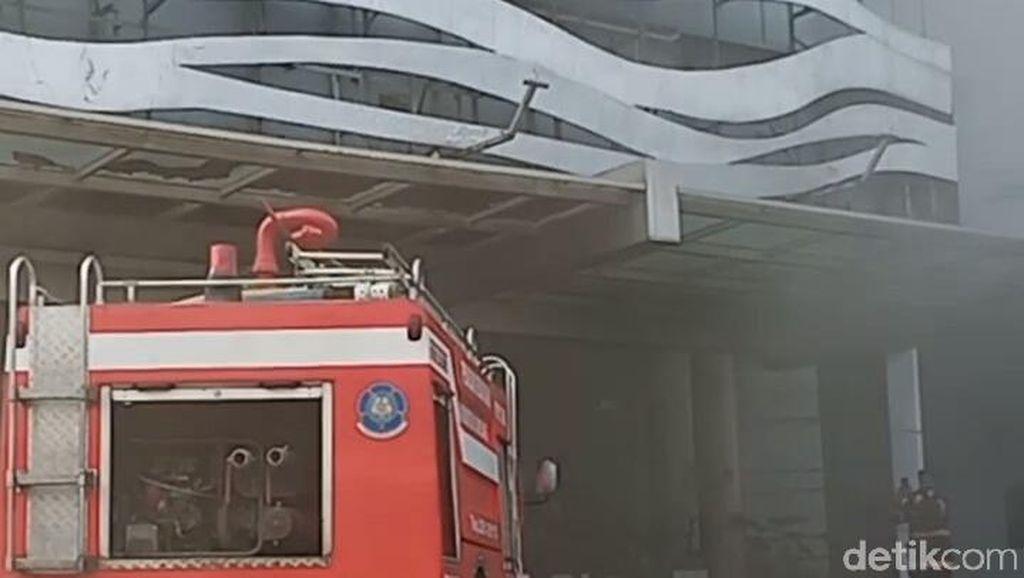 Kantor Penelitian Alutsista TNI Terbakar di Sumedang