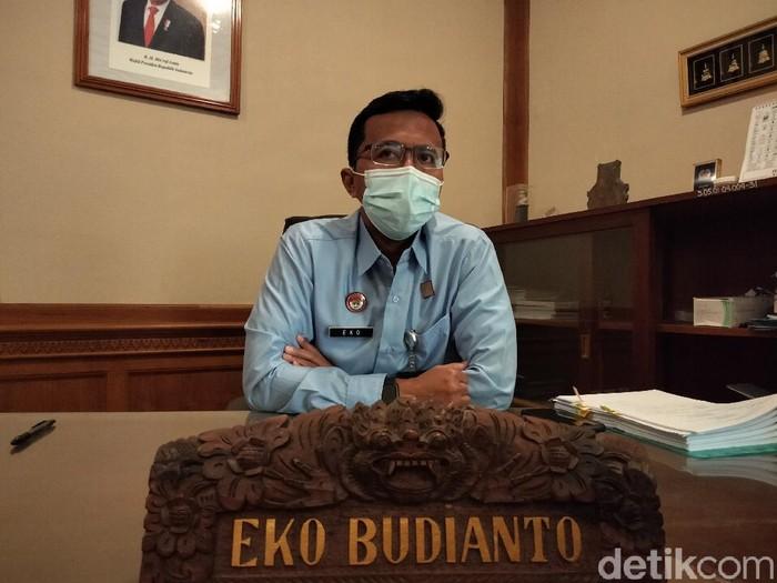 Kepala Divisi Keimigrasian Kantor Wilayah Kemenkumham Bali, Eko Budianto