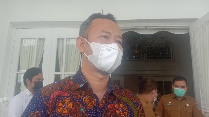 Ketua KPU Sumut, Herdensi Adnin (Ahmad Arfah-detikcom)