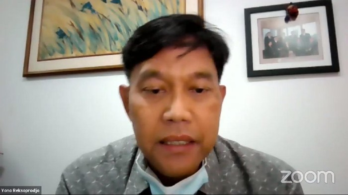 Ketua Lembaga Hikmah dan Kebijakan Publik PP Muhammadiyah, Yono Reksoprodjo,