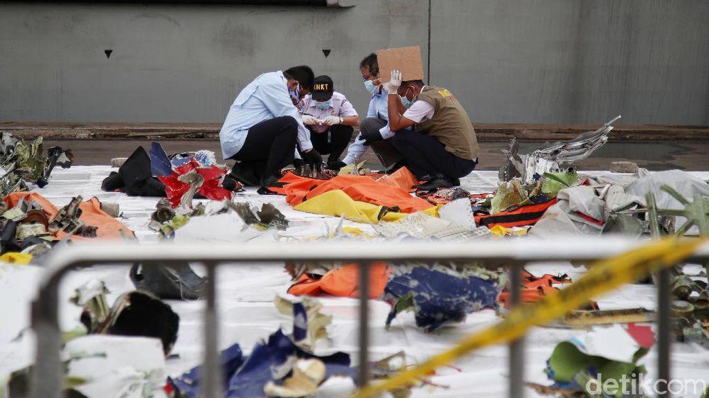 Operasi SAR Ditutup, Ini Daftar Temuan 13 Hari Evakuasi Sriwijaya Air SJ182