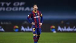 Messi Sedih dan Minta Maaf atas Kartu Merahnya