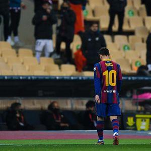 Lionel Messi Dinanti Sanksi