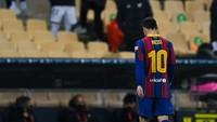 Kartu Merah Pertama Lionel Messi di Barcelona