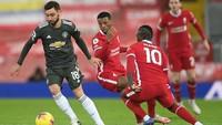 Liverpool Vs MU Masih 0-0 di Babak Pertama