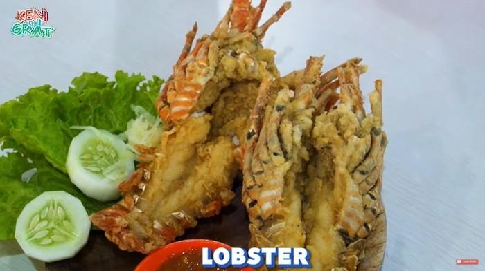 Lobster Goreng Tepung yang Unik
