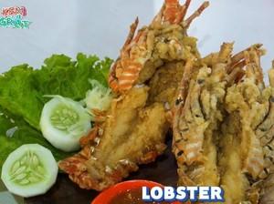 Setelah Bakso Lobster Viral, Kini Ada Lobster Goreng Tepung!