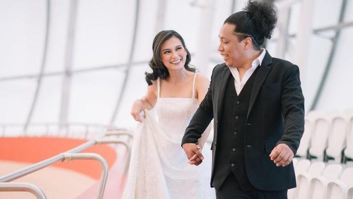 prewedding Arie Kriting dan Indah Permatasari