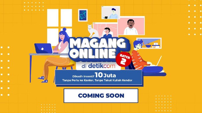 Program Magang Online Detikcom 2