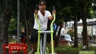 Mantap! Taman Hijau di Jati Asih Dilengkapi Sarana Olahraga