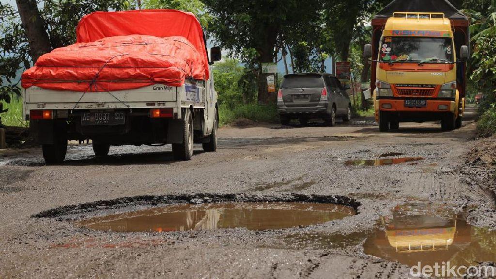 Anggaran Minim, Dinas PUPR Trenggalek Kewalahan Tangani Jalan Rusak