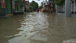 Sungai Meluap, Banjir Masih Rendam Sejumlah Titik di Cirebon