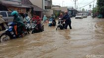 Banjir di Kudus, Sejumlah Kendaraan Mogok
