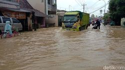 600 Rumah di Mejobo Kudus Kebanjiran Akibat Luapan Sungai Piji