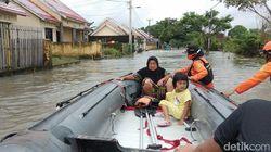 Banjir Kembali LandaMakassar, 500 Rumah di Perumnas Antang Terendam