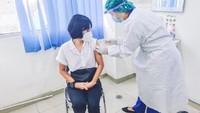 Kata Dokter Soal Rasanya Disuntik Vaksin Corona: Pegel!