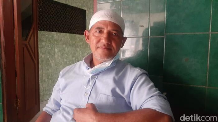Haji Daud selaku Ketua RW 04 di Kelurahan Manggarai. (Afzal NI/detikcom)