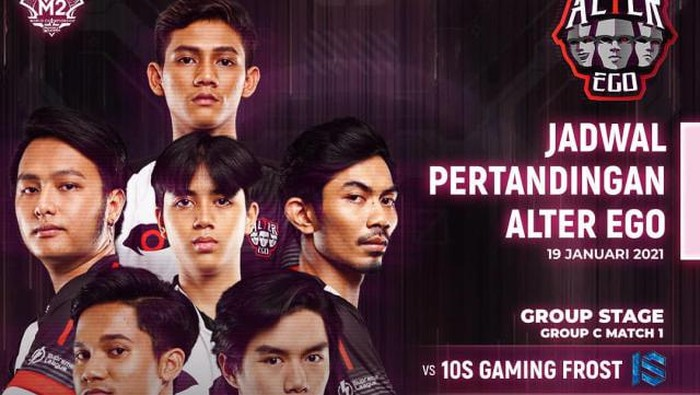 Hasil Pertandingan M2 Mobile Legends Fase Group, Alter Ego vs 1OS Gaming