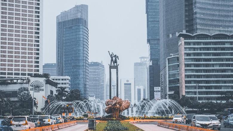 Ilustrasi suasana di Jakarta