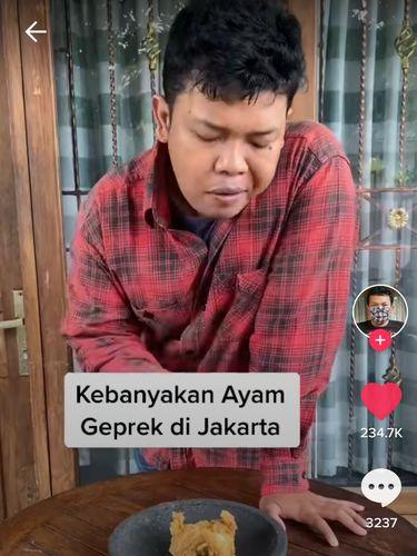 Inilah Bedanya Ayam Geprek di Jakarta dan di Jogja